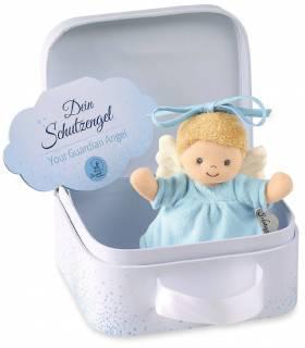 Sterntaler Spieluhr Mini - Schutzengel Blau