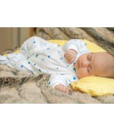 Zewi Bébé-Jou BEZUG (Baby- Lagerungskissen) 100cm Gelb Uni