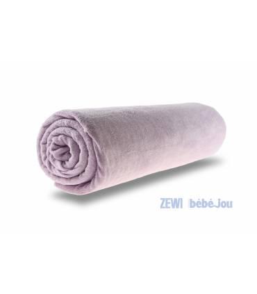 Zewi Bébé-Jou Fix Leintuch Frotté Lila