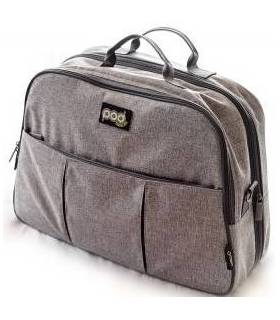 Bizzi Growin Reisetasche/Reisebett - Grey