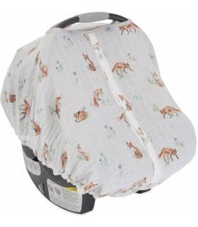 Little Unicorn Car Seat Canopy - Fox