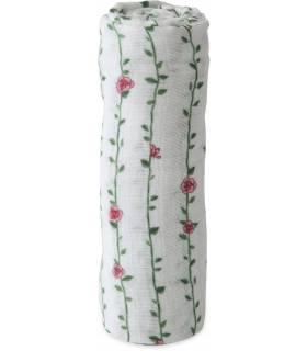 Little Unicorn Mullwindeln 120x120 (Nuscheli) Einzel Pack - Rose Wine