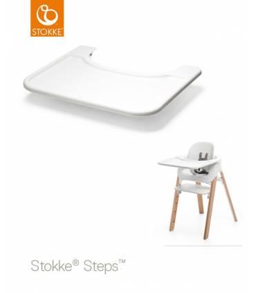 Stokke Tray Weiss (Tisch für Steps)