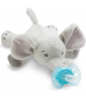 Avent Snuggle Nuggikette 0-6M - Elefant