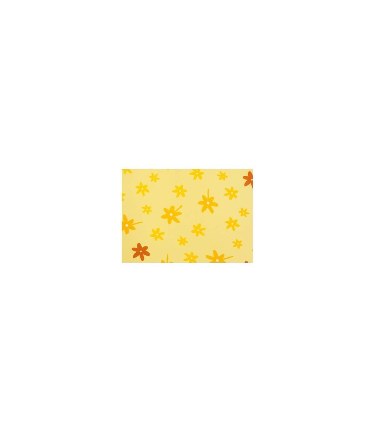 Theraline BEZUG (zu Still-und Lagerungskissen Aktion) Blümchen Gelb