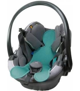 Kuli Muli Autositzauflage für Baby-Schalen (Gruppe 0+) Dusty Türkis