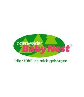 Odenwälder Fixleintuch ORANGE (Spannbettlaken) 70x140cm & 60x120