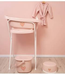 Zewi Bébé-Jou Wickelkissenüberzug UNI gross Pink 75x74-80