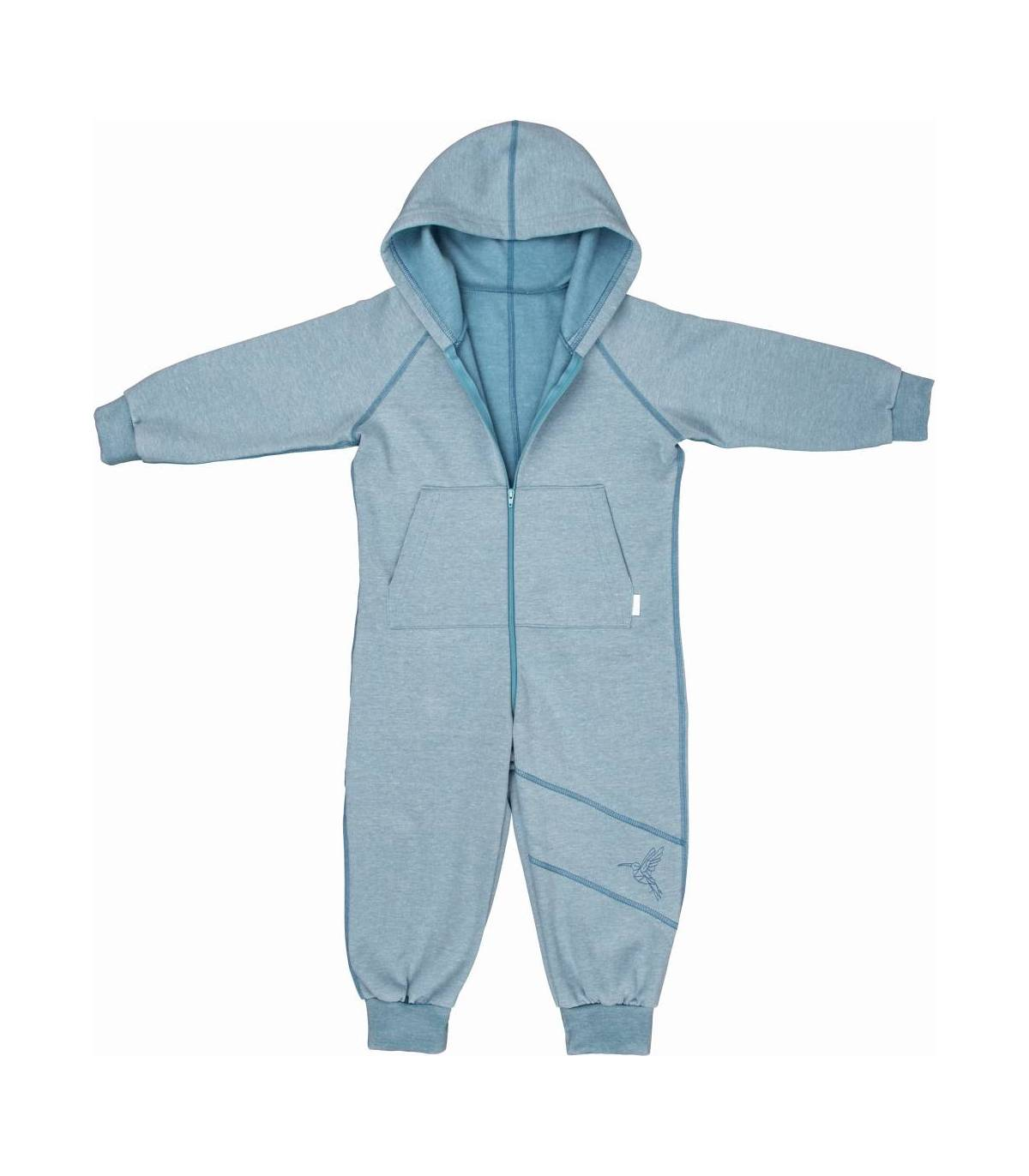 Zewi Bébé-Jou Onesie Anzug Blau