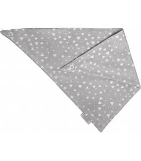 Zewi Bébé-Jou Bandana (Spucktuch) Grau