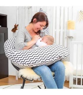 Zewi Bébé-Jou Baby- Lagerungskissen 100cm  (Mit Bezug) Mint