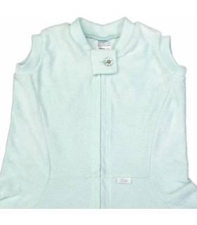 Zewi Bébé-Jou Fix-Decke Uni  (Reissverschluss-Vorne) Mint