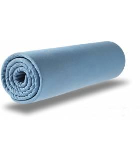 Zewi Bébé-Jou Fix Leintuch Jersey Blau