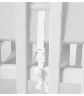 Zewi Bébé-Jou Fix-Decke Spezialmasse (Reissverschlus-Vorne) Mint