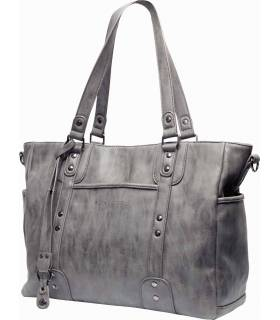 Little Company Wickeltasche Paris Studs Grey