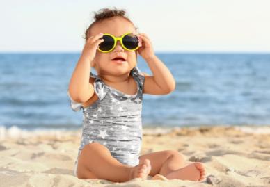 Vorsicht, Wasser! Mit dem Baby an Badi, See oder Meer