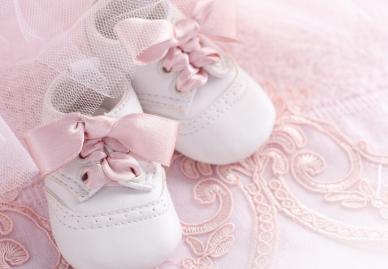 Baby's erste Schuhe