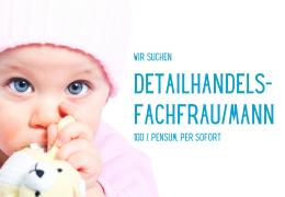 Detailhandels- fachfrau/mann (100%)