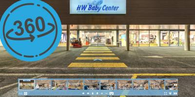 Virtuelle Ladentour durch das HW Baby Center